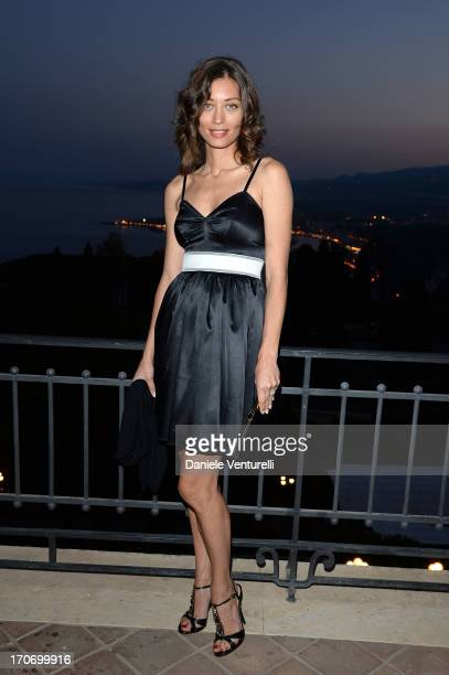 Margareth Made attends 'Taormina FilmFest Humanitarian Award' on June 16 2013 in Taormina Italy