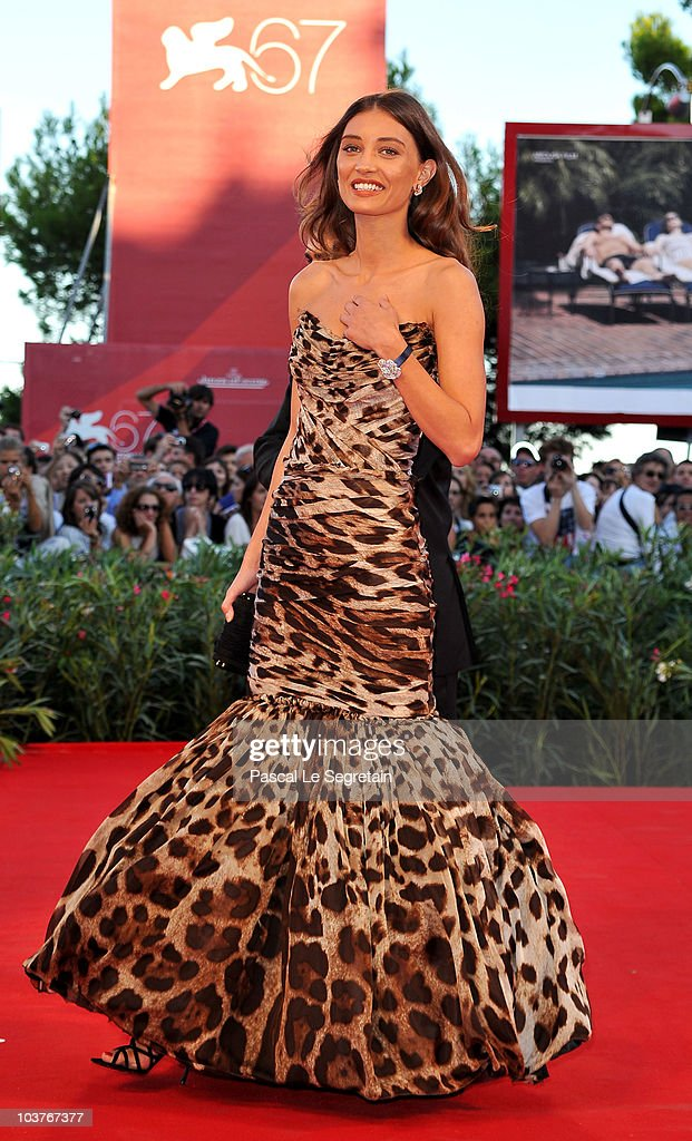 Margareth Made attends the Opening Ceremony and 'Black Swan' premiere during the 67th Venice Film Festival at the Sala Grande Palazzo Del Cinema on...