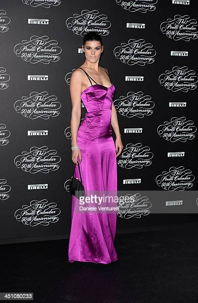 Margareth Made attends the Pirelli Calendar 50th Anniversary event on November 21 2013 in Milan Italy