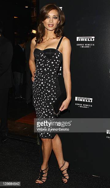 Margareth Made attends the Pirelli Corso Venezia flagship store opening on September 20 2011 in Milan Italy