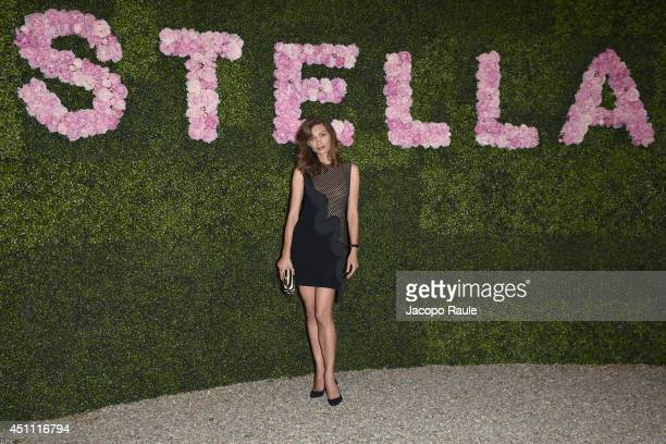 Margareth Made attends the Stella McCartney Garden Party during the Milan Fashion Week Menswear Spring/Summer 2015 on June 23 2014 in Milan Italy