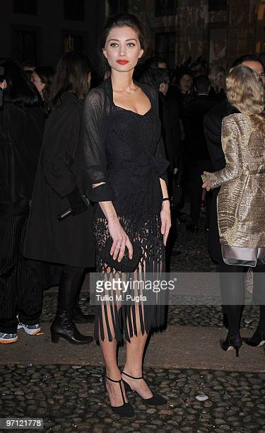 Margareth Made attends Vogueit during Milan Fashion Week Womenswear Autumn/Winter 2010 on February 26 2010 in Milan Italy