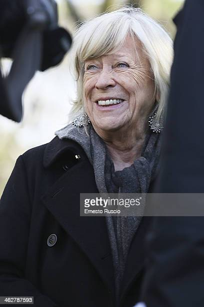 Margarethe von Trotta attends the 'Hannah Arendt' Photocall at La Casa Del Cinema on January 15 2014 in Rome Italy