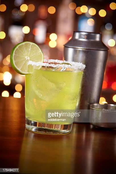 Margarita at a bar