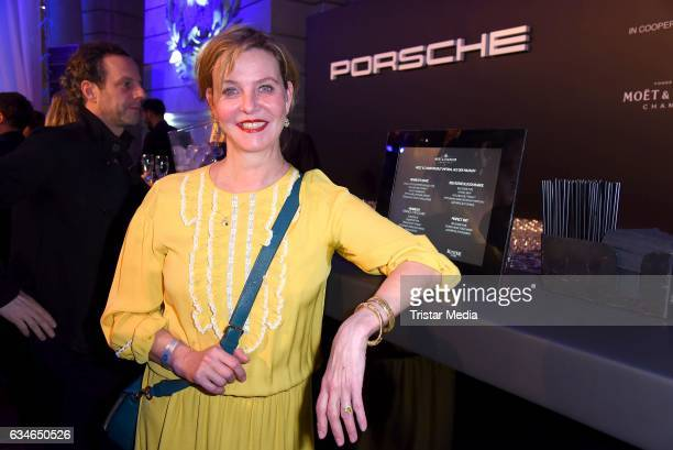 Margarita Broich attends the Blue Hour Reception hosted by ARD during the 67th Berlinale International Film Festival Berlin on February 10 2017 in...