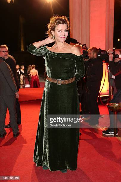 Margarita Broich during the Hessian Film and Cinema Award at Alte Oper on October 21 2016 in Frankfurt am Main Germany