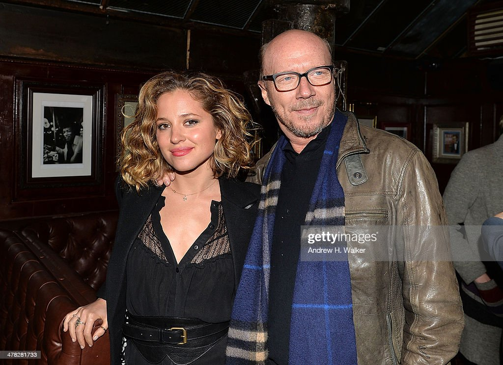 <a gi-track='captionPersonalityLinkClicked' href=/galleries/search?phrase=Margarita+Levieva&family=editorial&specificpeople=630349 ng-click='$event.stopPropagation()'>Margarita Levieva</a> and director <a gi-track='captionPersonalityLinkClicked' href=/galleries/search?phrase=Paul+Haggis&family=editorial&specificpeople=213967 ng-click='$event.stopPropagation()'>Paul Haggis</a> attend Sony Pictures Classics' 'Only Lovers Left Alive' screening hosted by The Cinema Society and Stefano Tonchi, Editor in Chief of W Magazine after party at Chalk Point Kitchen on March 12, 2014 in New York City.