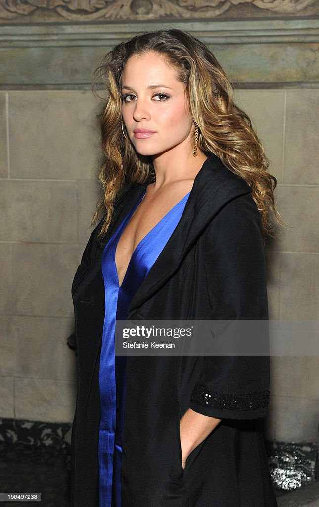 <a gi-track='captionPersonalityLinkClicked' href=/galleries/search?phrase=Margarita+Levieva&family=editorial&specificpeople=630349 ng-click='$event.stopPropagation()'>Margarita Levieva</a> attends Juan Carlos Obando Jewelry Collection Launch Dinner at Chateau Marmont on November 15, 2012 in Los Angeles, California.