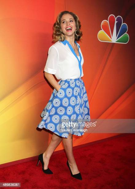 Margarita Levieva attends the 2014 NBC Upfront Presentation at The Jacob K Javits Convention Center on May 12 2014 in New York City