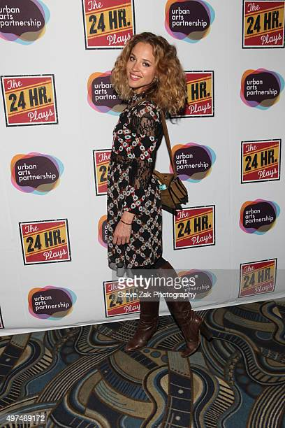 Margarita Levieva attends the 2015 24 Hour Plays On Broadway Gala at American Airlines Theatre on November 16 2015 in New York City