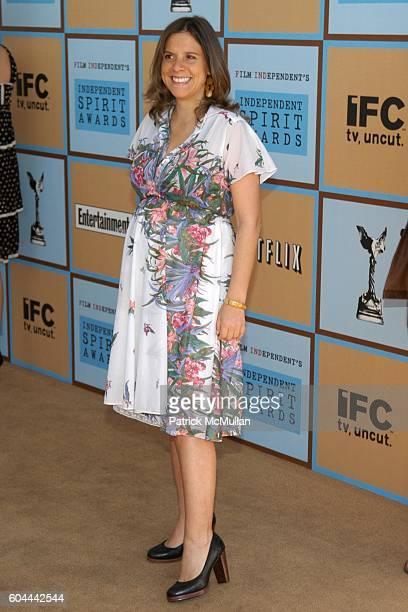 Margarita Martinez attends 20th IFC Independent Spirit Awards Arrivals at Santa Monica Beach on March 4 2006 in Santa Monica LA