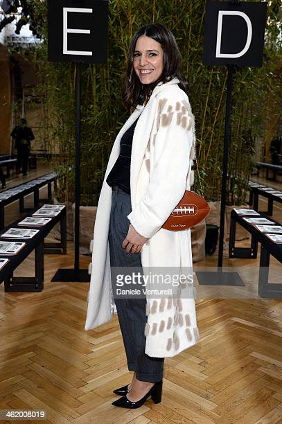 Margarita Missoni attends the Missoni show as a part of Milan Fashion Week Menswear Autumn/Winter 2014 on January 12 2014 in Milan Italy