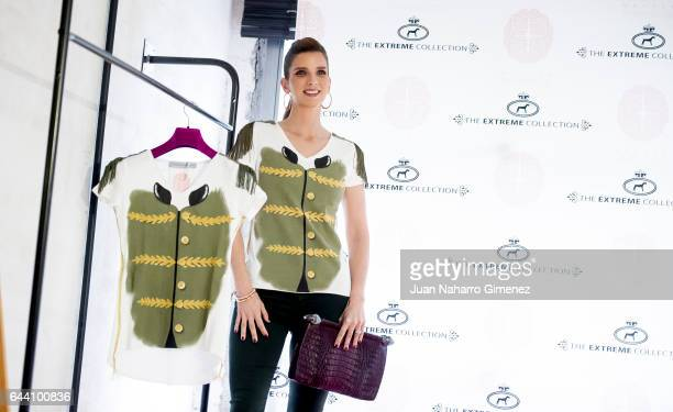 Margarita Vargas attends 'Querer' TShirt Limited Edition presentation at Maison the Extremen Collection on February 23 2017 in Madrid Spain