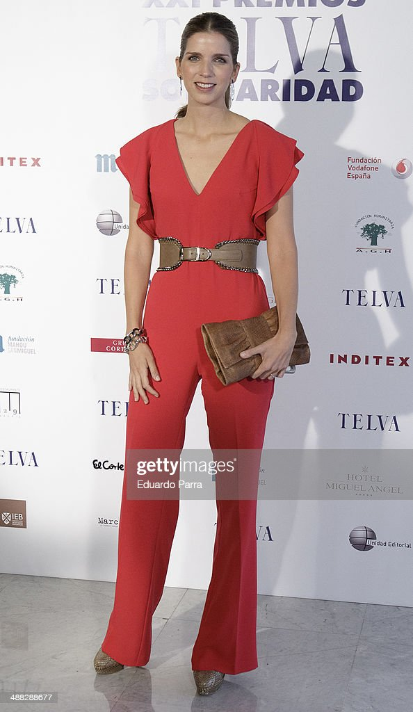 Margarita Vargas attends the 'Telva solidarity awards' photocall at Miguel Angel hotel on May 5, 2014 in Madrid, Spain.