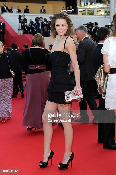 Margaryta Senchylo attends ''The Exodus Burnt By The Sun 2'' Premiere held at the Palais des Festivals during the 63rd Annual International Cannes...