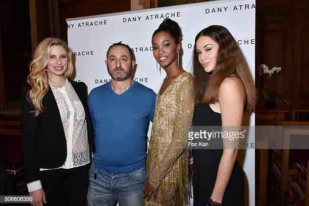 Margaux Savarit Miss ile de france 2014 Designer Dany Atrache Morgane Edvige Miss Martinique 1e dauphine Miss France 2016 and Margaux Bourdin Miss...