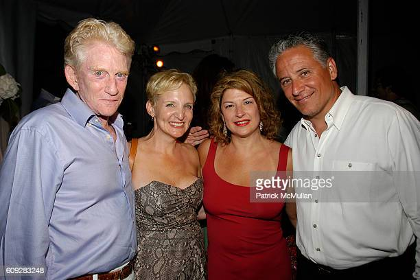 Margery Wallach Jackie Peplitcky and Max Doobine attend The Parrish Art Museum Midsummer Party Honoring Director Trudy C Kramer at Southampton on...