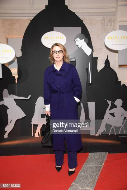 Margherita Buy attends Grand Opening Party Hotel Eden of Hotel Eden on March 28 2017 in Rome Italy