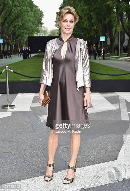 Margherita Buy attends the Giorgio Armani 40th Anniversary Silos Opening And Cocktail Reception on April 30 2015 in Milan Italy