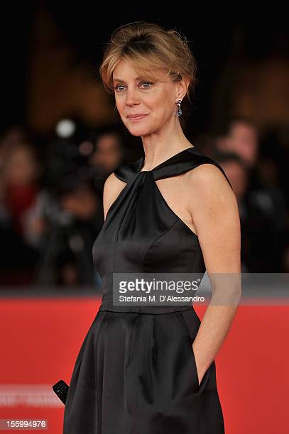 Margherita Buy attends the 'La Scoperta Dell' Alba' Premiere during the 7th Rome Film Festival at the Auditorium Parco Della Musica on November 10...