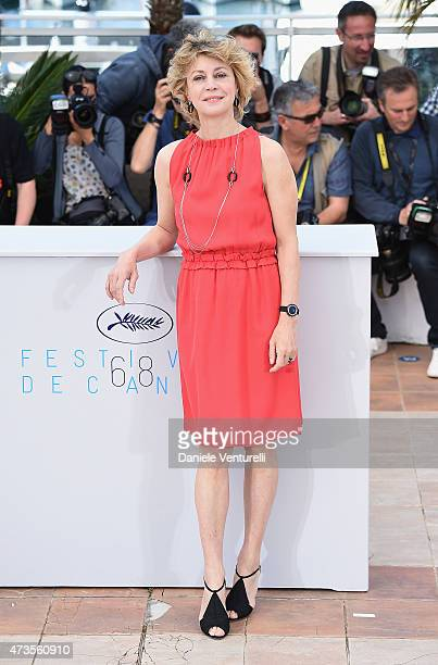 Margherita Buy attends the 'Mia Madre' Photocall during the 68th annual Cannes Film Festival on May 16 2015 in Cannes France
