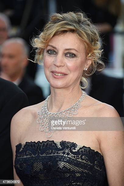 Margherita Buy attends the 'Mia Madre' Premiere during the 68th annual Cannes Film Festival on May 16 2015 in Cannes France