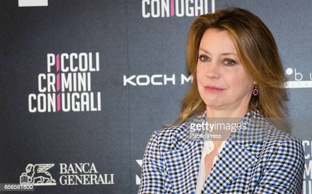 Margherita Buy attends the Photocall of 'Piccoli Crimini Coniugali'