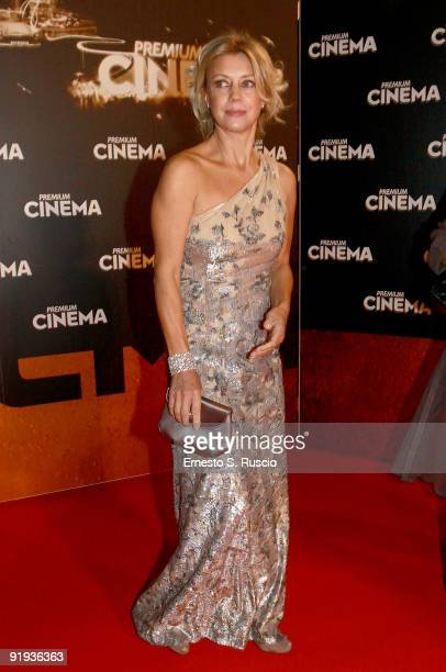 Margherita Buy attends the 'Triage' premiere during Day 1 of the 4th International Rome Film Festival held at the Auditorium Parco della Musica on...