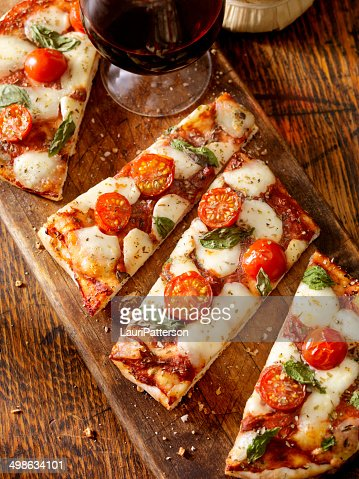 Margherita Flat Bread Pizza
