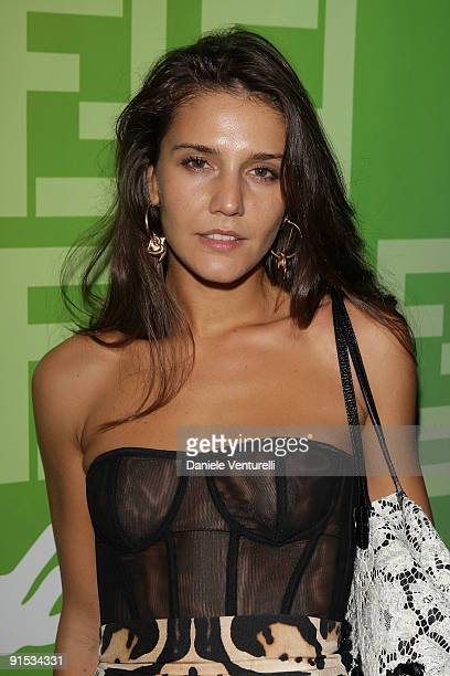 Margherita Missoni attends Fendi 'O' party For Pixie Lott at the VIP ROOM Theater on October 6 2009 in Paris France