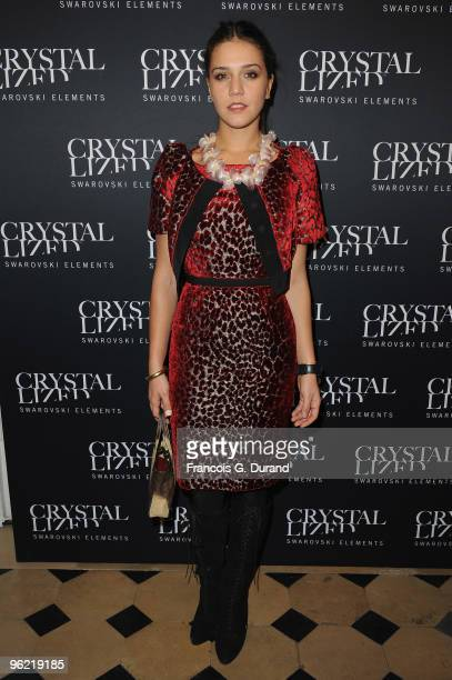 Margherita Missoni attends the 22 Iconic Little Black Dresses by Swarovski at Hotel Pozzo di Borgo on January 27 2010 in Paris France