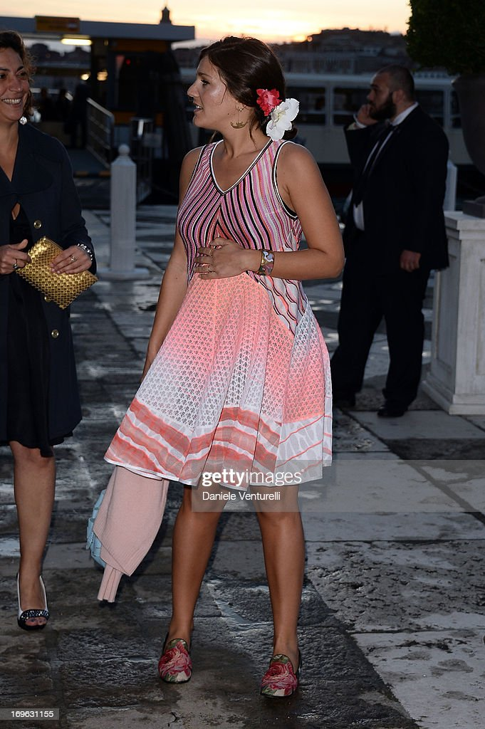 Margherita Missoni attends the Dinner At 'Fondazione Cini, Isola Di San Giorgio' during the 2013 Venice Biennale on May 29, 2013 in Venice, Italy.