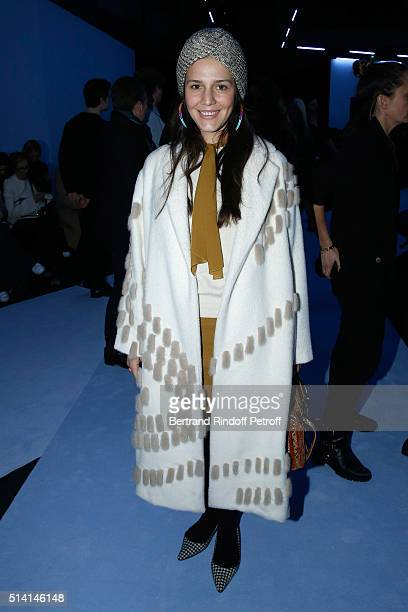 Margherita Missoni attends the Giambattista Valli show as part of the Paris Fashion Week Womenswear Fall/Winter 2016/2017 on March 7 2016 in Paris...