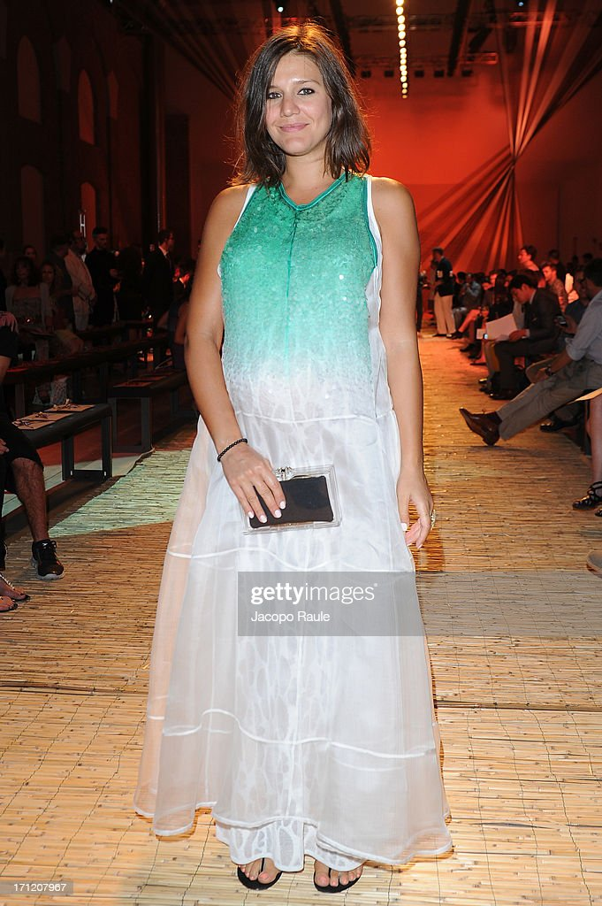 Margherita Missoni attends the Missoni Collection show during Milan Menswear Fashion Week Spring Summer 2014 on June 23, 2013 in Milan, Italy.
