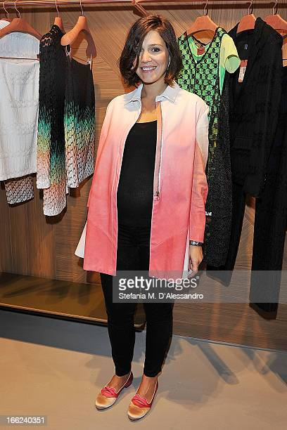 Margherita Missoni attends 'ZigZagging' Angela Missoni and Patricia Urquiola New Concept as part of 2013 Milan Design Week on April 10 2013 in Milan...