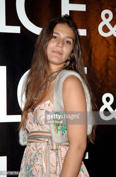Margherita Missoni during 2005 Cannes Film Festival Dolce Gabbana Party at VIP Room in Cannes France