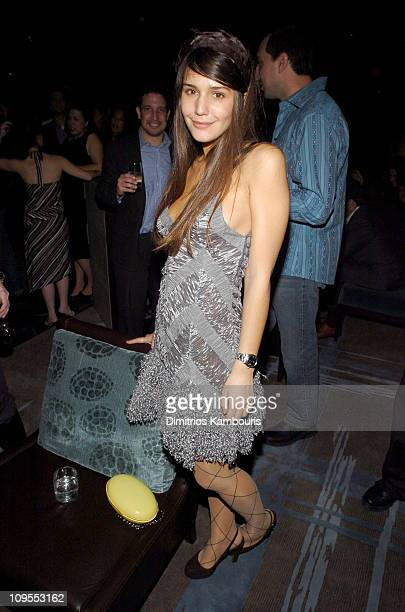 Margherita Missoni during Olympus Fashion Week Fall 2004 Zac Posen After Party Hosted by Stylecom at Stone Rose Lounge in New York City New York...