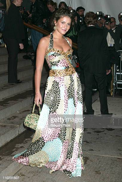 Margherita Missoni during The Costume Institute's Gala Celebrating 'Chanel' Arrivals at The Metropolitan Museum of Art in New York City New York...