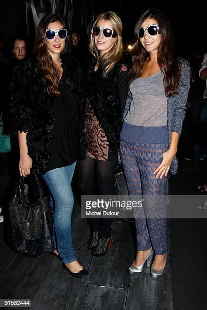 Margherita Missoni Tatiana Santo Domingo and Eugenia Niarchos attends the Valentino Pret à Porter show as part of the Paris Womenswear Fashion Week...