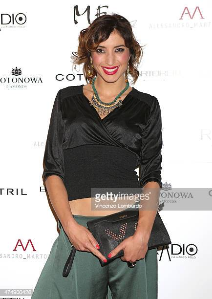 Margherita Zanatta attends the 'Suit Tie' Cocktail Dinner Party on May 27 2015 in Milan Italy