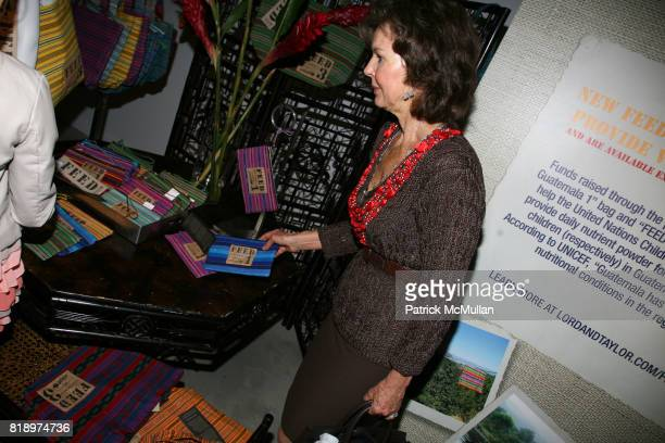 Margo Langenberg attends LORD TAYLOR Mother/Daughter Tea for FEED with LAUREN BUSH and ELLEN GUSTAFSON at Lord Taylor on May 7 2010 in New York City