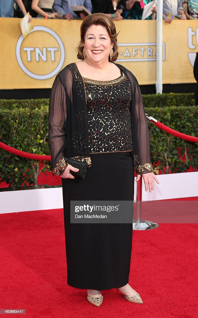 Margo Martindale arrives at the 20th Annual Screen Actors Guild Awards at the Shrine Auditorium on January 18, 2014 in Los Angeles, California.