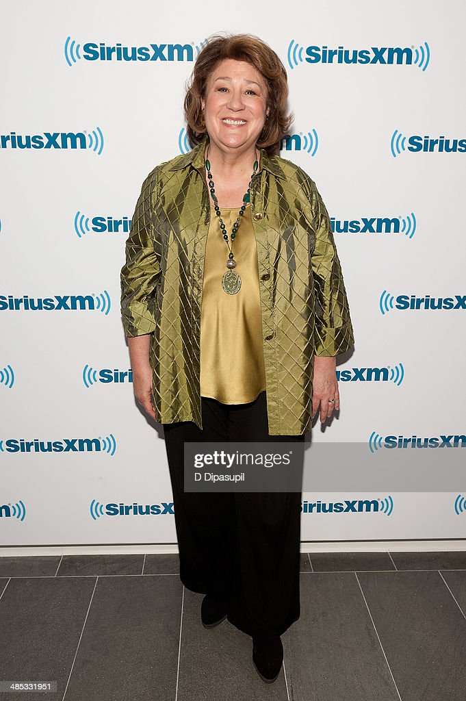 Margo Martindale visits the SiriusXM Studios on April 17 2014 in New York City