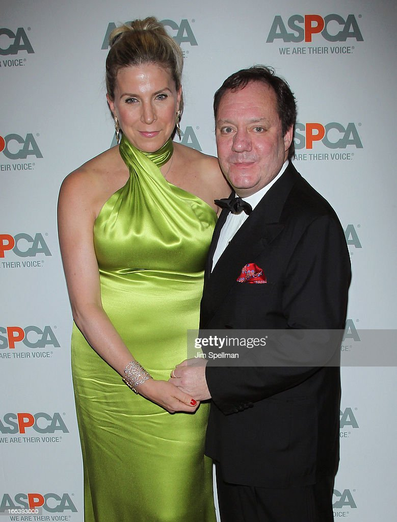 Margo Nederlander and James Nederlander attend the 16th Annual ASPCA Bergh Ball at The Plaza Hotel on April 11, 2013 in New York City.