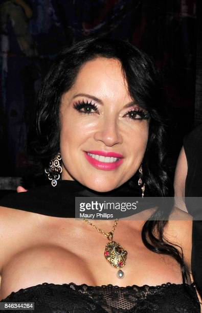 Margo Rey attends The Roots of Rey Despacito Margo album release party at Herb Alpert's Vibrato Grill Jazz on September 12 2017 in Los Angeles...
