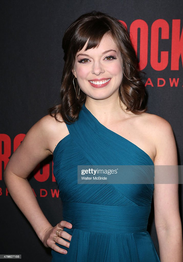 <a gi-track='captionPersonalityLinkClicked' href=/galleries/search?phrase=Margo+Seibert&family=editorial&specificpeople=12476624 ng-click='$event.stopPropagation()'>Margo Seibert</a> attends the 'Rocky' Broadway Opening Night After Party at Roseland Ballroom on March 13, 2014 in New York City.