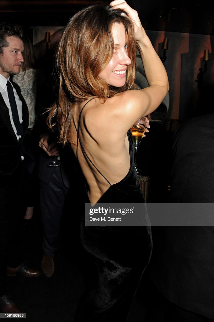 Margo Stilley attends a private dinner hosted by Tom Ford to celebrate his runway show during London Collections: MEN AW13 at Loulou's on January 9, 2013 in London, England.