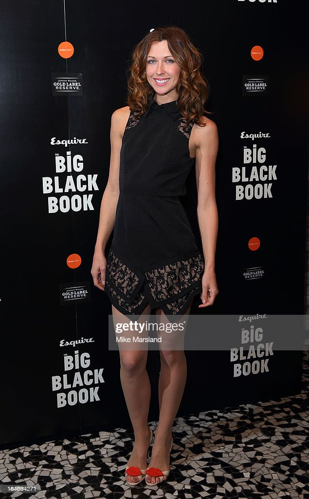 Margo Stilley attends Esquire's Little Black Book party at Sushi Samba on March 26, 2013 in London, England.