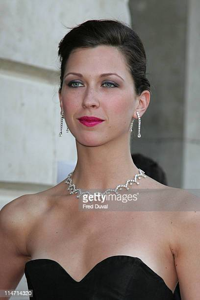 Margo Stilley during Raisa Gorbachev Foundation Party Red Carpet at Hampton Court Palace in London United Kingdom