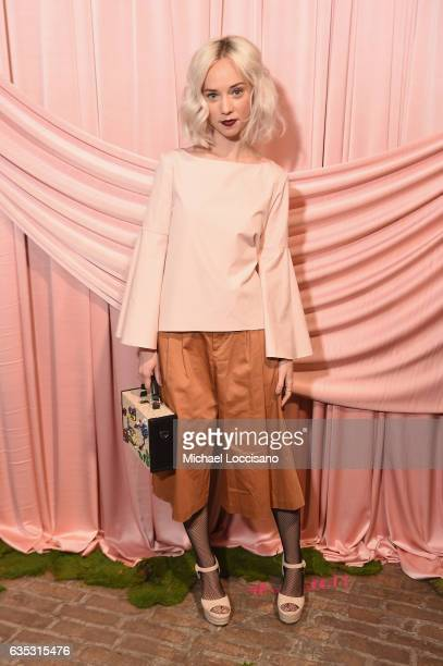 Margot attends the alice olivia by Stacey Bendet Fall 2017 Presentation at Highline Stages on February 14 2017 in New York City